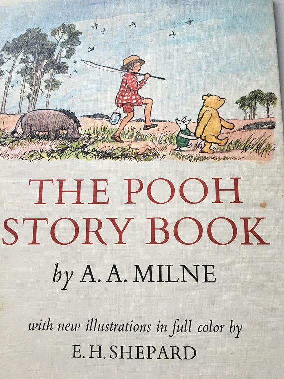The Pooh Story Book A.A. Milne Hard Cover Stories from House