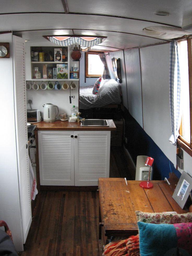 40ft Narrow Boat Zone 2 London Mooring Canal Boat Interior Narrowboat Interiors Narrowboat