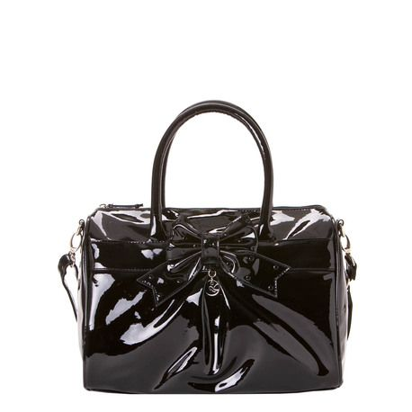 ANITA LINE | Carry-all bag with bow and charm.
