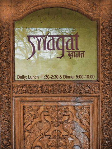 Swagat Indian Cuisine in Beaverton, Oregon. Another favorite of ours - try the Chicken Makhani or Lamb Saag, it's our favorite :-)