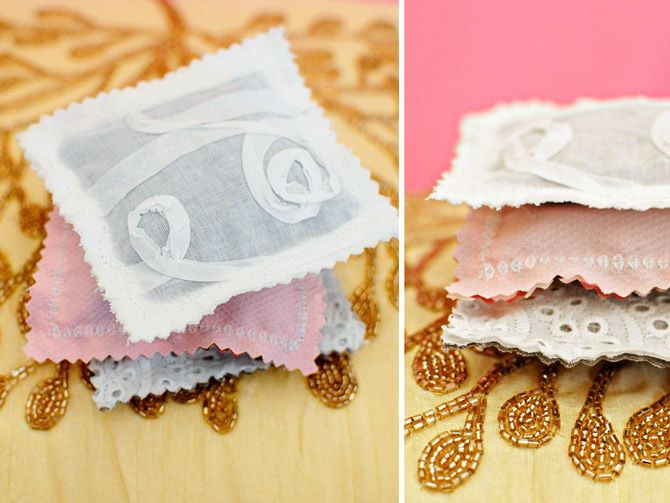 make your own lavender sachets. This would be a good valentine for the other moms at wava's school <3