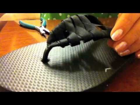 Transformando seu chinelo