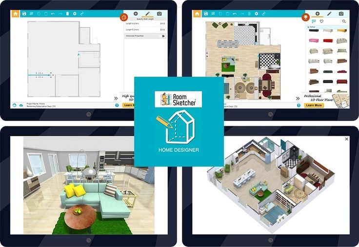 56 best floor plan software images on pinterest floor plans with roomsketcher home designer for android tablet you can work onsite malvernweather Gallery