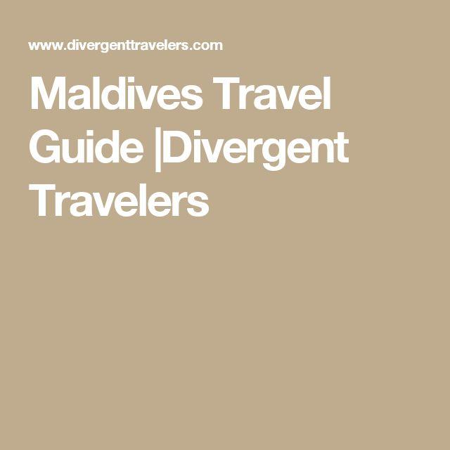 Maldives Travel Guide |Divergent Travelers