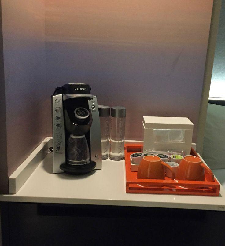 Loved the Keurig Coffee Brewer in my hotel room