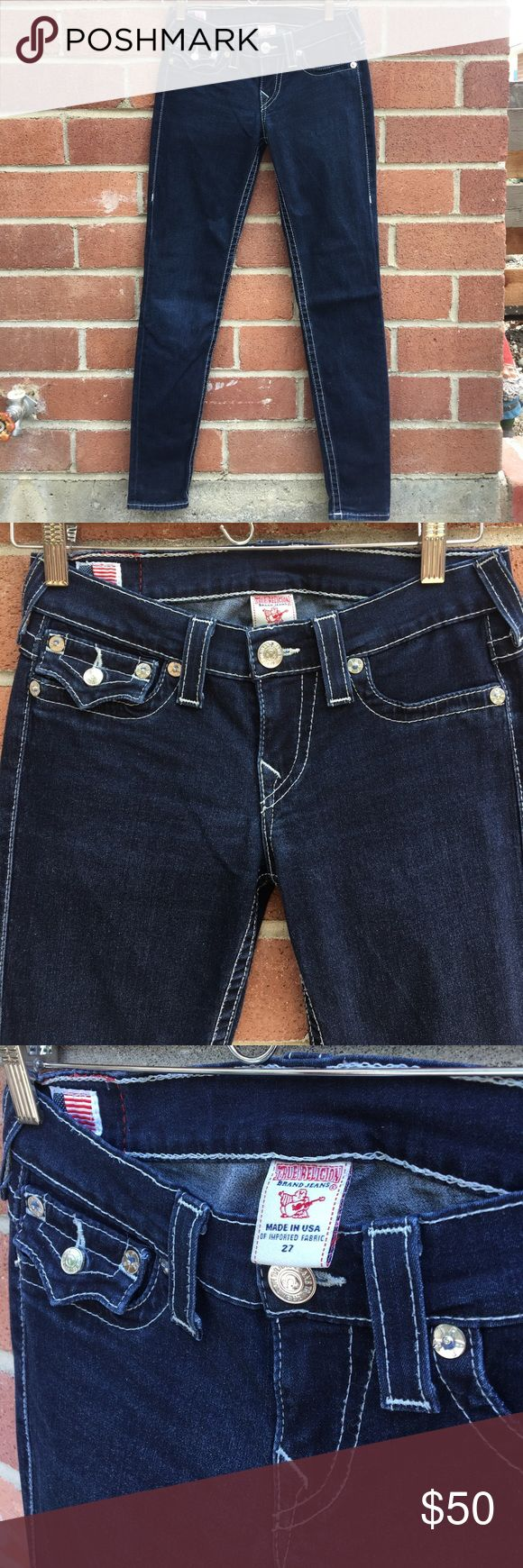 True Religion Misty Super Skinny Jeans True Religion Misty Super Skinny Jeans, size 27, EUC. True Religion Jeans Skinny