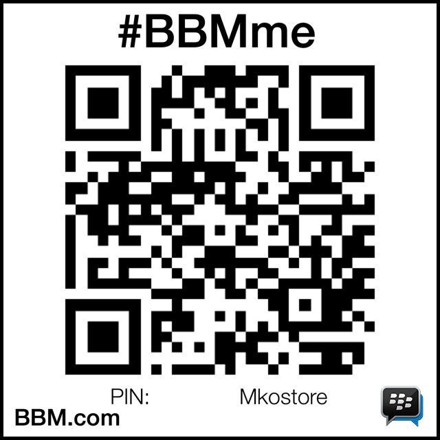 #BBMme PIN:Mkostore http://www.pin.bbm.com/7EB3274C