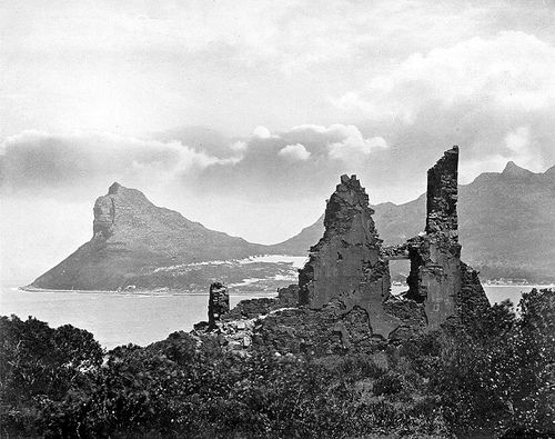 Old Ruin at Hout Bay, Cape Town