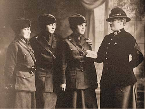13 August 1918: Opha M. Johnson enlisted at HQMC, becoming the first woman Marine when she joined the Marine Corps Reserve during World War I. Johnson was the first of 305 women to enlist in the United States Marine Corps Women's Reserve that day.