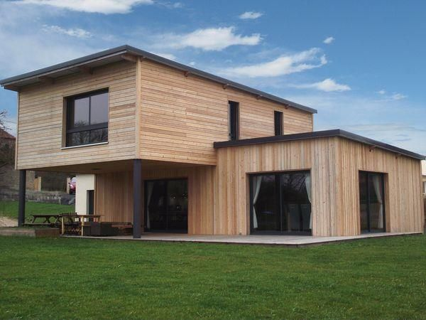 9 best Maisons bois inspiration images on Pinterest | Modern homes ...