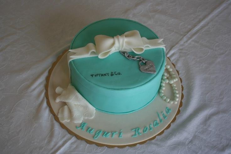 #Torta pacco Tiffany #Tiffany cake #