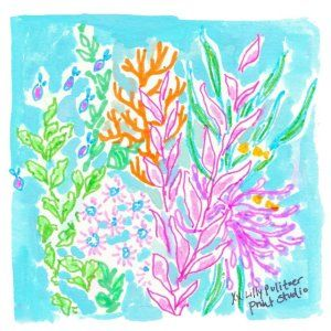 Satisfy your coral craving…Visit our newest store in Georgetown, Washington DC to see our hand painted coral details & more. #Lilly5x5 #FindTheLilly