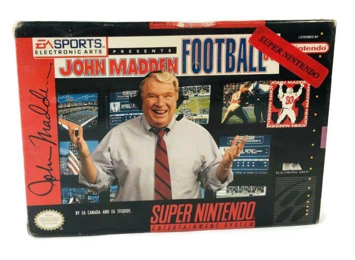 Super Nintendo Snes John Madden Football 93 Brand New Sealed