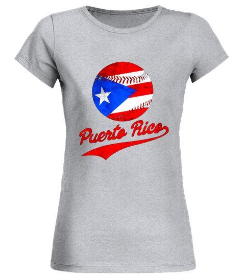 Puerto Rico Baseball Ball Flag Puerto Rican T-Shirt baseball shirt ... 0b502b78da