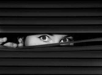 vertical blinds secretive  Unit 2 - Elly Moohan Photography