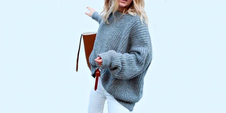 Y así es como puedes usar todos tu suéteres largos este invierno