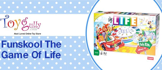 #Funskool_Game_of_Life online for kids aged above nine years at Toygully.com. #Funskool_Toys and #Funskool_Games enhance the potential of their kid's mental skills, logical thinking and game planning skills. http://www.toygully.com/board-games/506-funskool-game-of-life-8901383953513.html