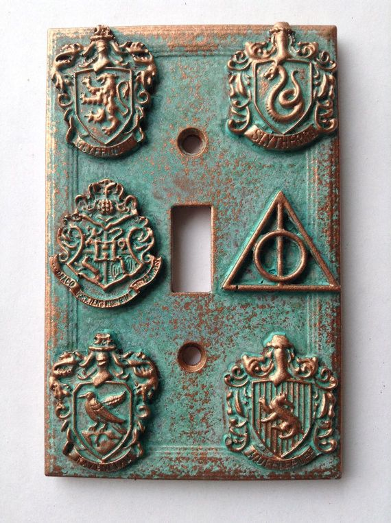 Light Switch Cover - HP Crests