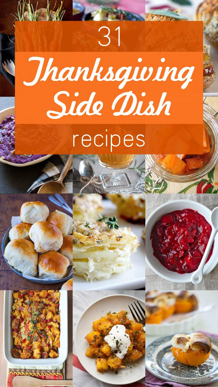 31 of the Best Thanksgiving Side Dish Recipes