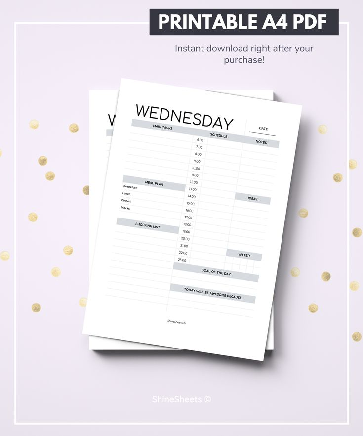 Perfect for every week day planning, all the basics included. #planner #plannercommunity #plannergirl #organized #organization #organizing
