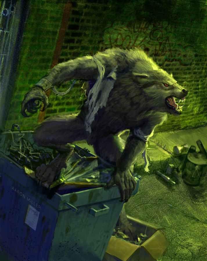 lupi mannari veri | Vincent Morgan Carpenter: Lycaon el primer Hombre Lobo