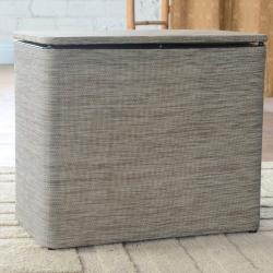 @Overstock - This contemporary hamper will be a bright asset to your laundry or kids room. This convenient furniture can also double as a bench for additional seating. http://www.overstock.com/Home-Garden/1530-LaMont-Home-Cambria-Grey-Bench-Hamper/6728655/product.html?CID=214117 $67.04