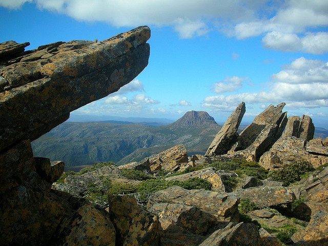 Cradle Mountain from Barn Bluff. DSCN3243 by paulhypnos, via Flickr