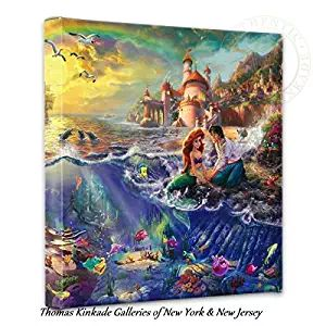 Thomas Kinkade Little Mermaid Gallery Wrap Canvas If You Have A Toddler Or  A Little Girl
