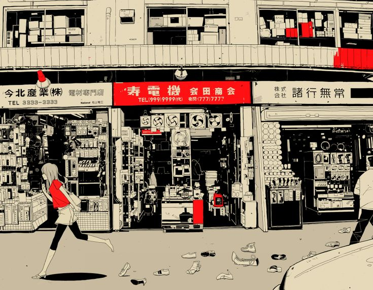 Illustrator: Nihohe MangakaPixiv Nets, Kitchens Colors, Animal Art, Art Inspiration, Illustration, Inspiration Pictures, Black White, Colors Schemes, Red Black