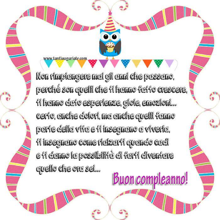 Non rimpiangere mai gli anni che passano, Buon compleanno! #compleanno #buon_compleanno #tanti_auguri