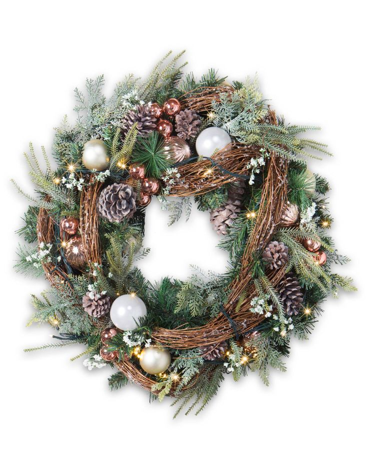 French Country Wreath creates a warm and