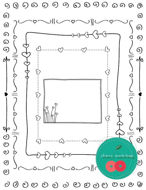 valentine day ideas 36 best borders images on doodles zentangle 10051