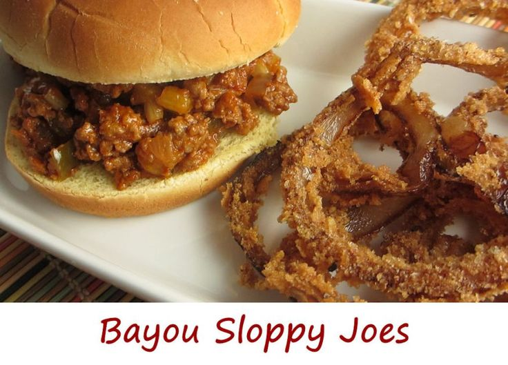 It doesn't take much to kick up a normal ole Sloppy Joe dish and ...