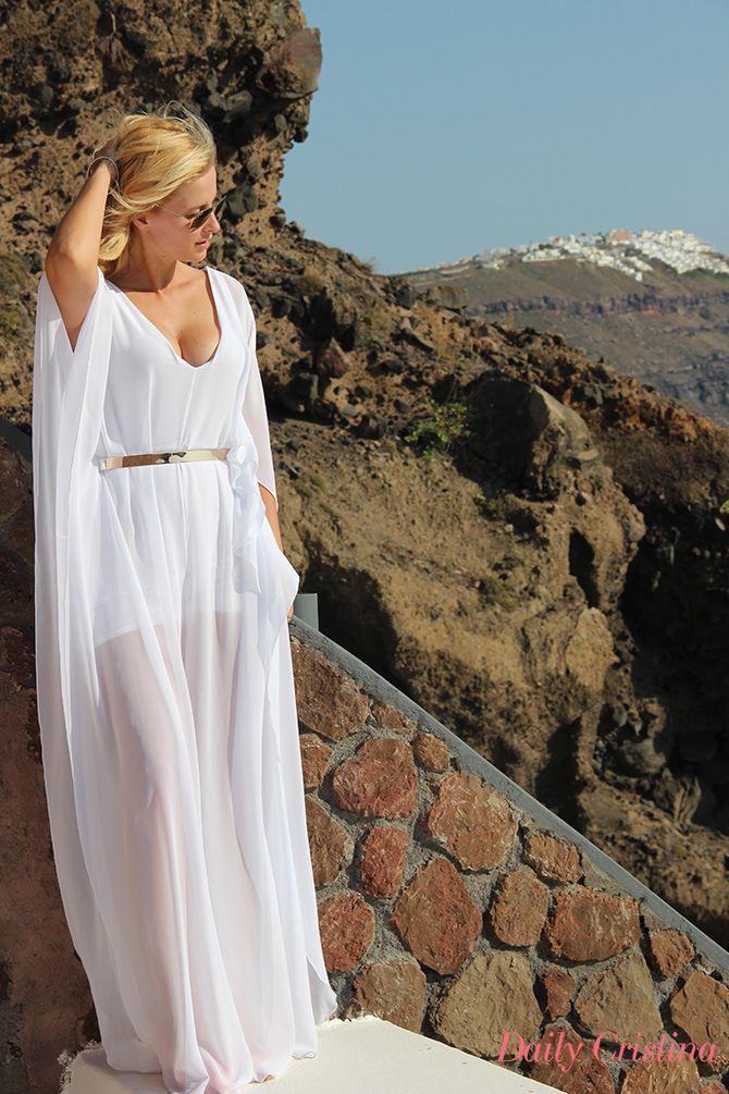 Cristina Ferreira - Santorini, Grécia - i just love love the dess