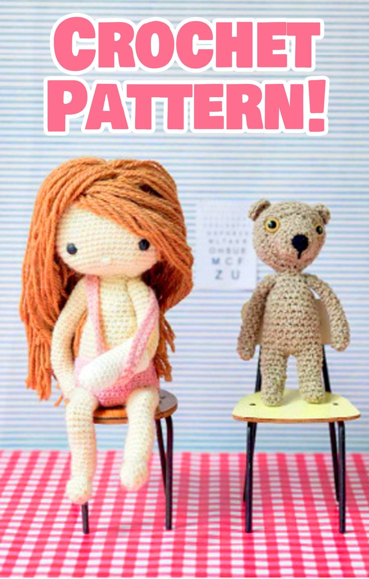 288 best crochet dolls images on pinterest crochet dolls amigurumi doll crochet pattern crochet toy doll pattern crochet toy pattern crochet doll pattern crochet amigurumi pattern doll clothes pattern bankloansurffo Choice Image