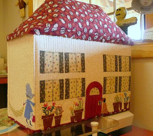 Sewing Machine Cover by Alexandra408, via Flickr