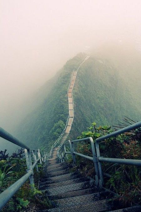 Haiku Stairs Oahu Hawaii