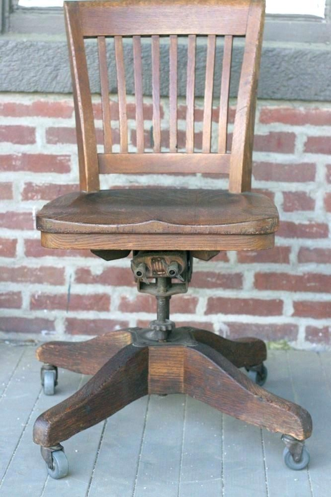 Antique Wood Office Chair Jury Antique Wood Office Chair Wooden