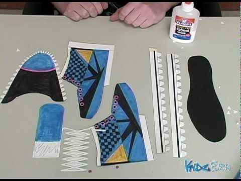 17 best ideas about paper shoes on pinterest box for How to make paper shoes templates