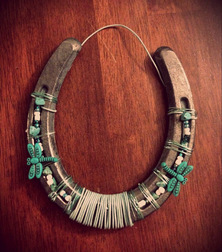 1000 Images About Decorated Horseshoes On Pinterest