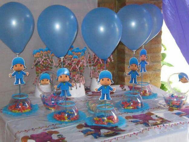 Pocoyo on Pinterest | Pocoyo, Cupcake Toppers and Fondant Cupcake ...