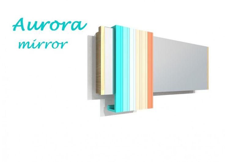 Formabilio - Ripropongo un concept a cui tengo particolarmente: Aurora. L'ispirazione è venuta dalla straordinaria bellezza dei colori della natura, in particolare dal fenomeno sorprendente dell' Aurora: ogni volta diversa, l'Aurora tinge il cielo di colori delicati come l'azzuro e il rosa, o accesi ( nel caso dell'Aurora Boreale), che vanno dal viola, al rosso, al blu, al verde e al giallo, in tutte le sfumature. Aurora è uno specchio lungo il quale scorrono dei sottili elementi colorati…