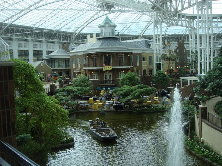 Opryland Hotel We Stayed Here For Now Week While Enjoyed The Sights Spectacular