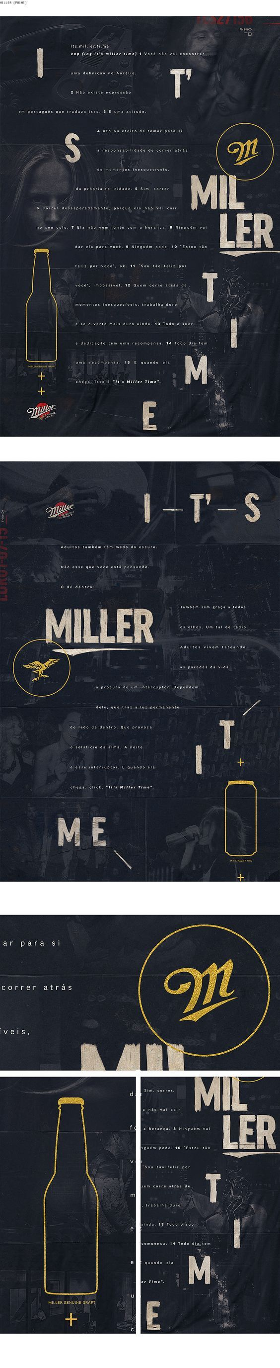 Miller Print - Tales Lima Art Director: