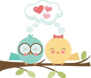 Bird Love SVG
