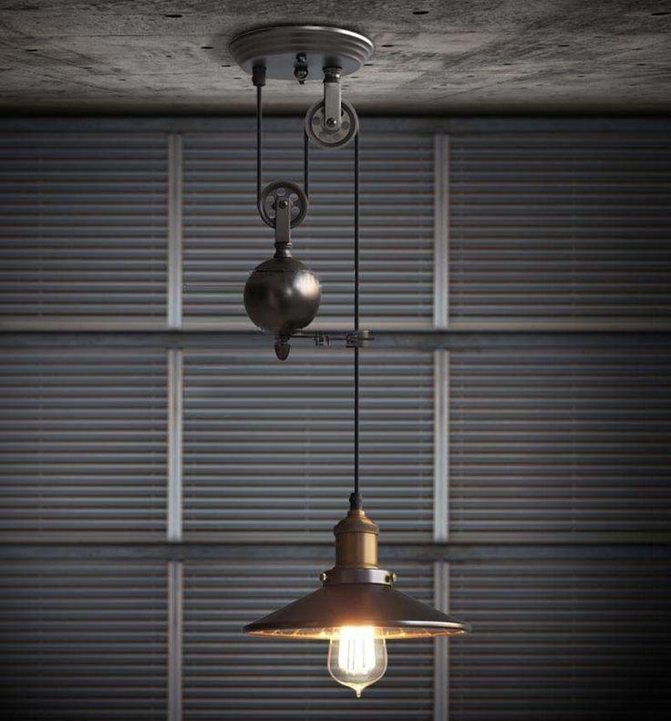 Кухня повышение и упасть шкив подвесные светильники эдисон подвесной светильник ретро кованого железа светильники промышленные лампы бар из светодиодов Abajur, принадлежащий категории Подвесные светильники и относящийся к Лампы и освещение на сайте AliExpress.com | Alibaba Group