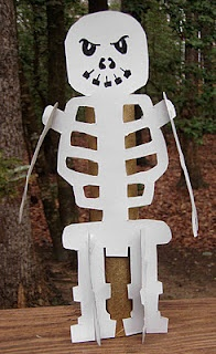 Skeleton template
