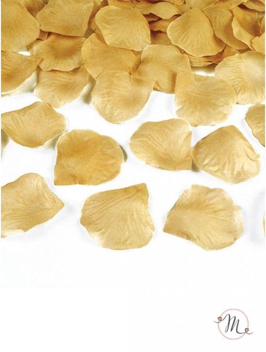 Petali in tessuto oro. Petali in tessuto 100 pezzi.  Ideali per allestimenti. #ricevimento  #allestimenti #matrimonio #ricevimentomatrimonio #nozze #weddingplanner #accessori #decori #tavoli #sedie #runner #fiocchi #wedding #weddingideas #ideasforwedding #petali #tessuto