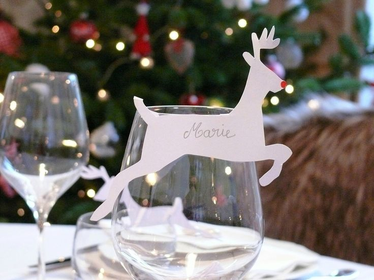 Decoration de table reveillon a faire soi meme - Deco noel a faire soi meme pour la table ...