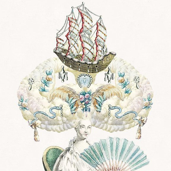 My V&A design a wig creation ♡  #marieantoinette #designawig #vanda #18thcentury #royal #posh #fancy #app #game #wig #fun #boathair
